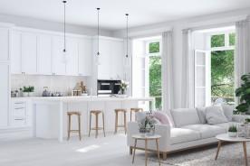 5 idee di arredamento per una casa total white