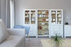 Cosa mettere nella vetrinetta del soggiorno per renderla funzionale